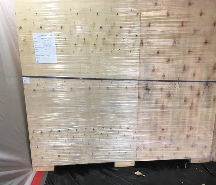 Crates Damaged By Mold After