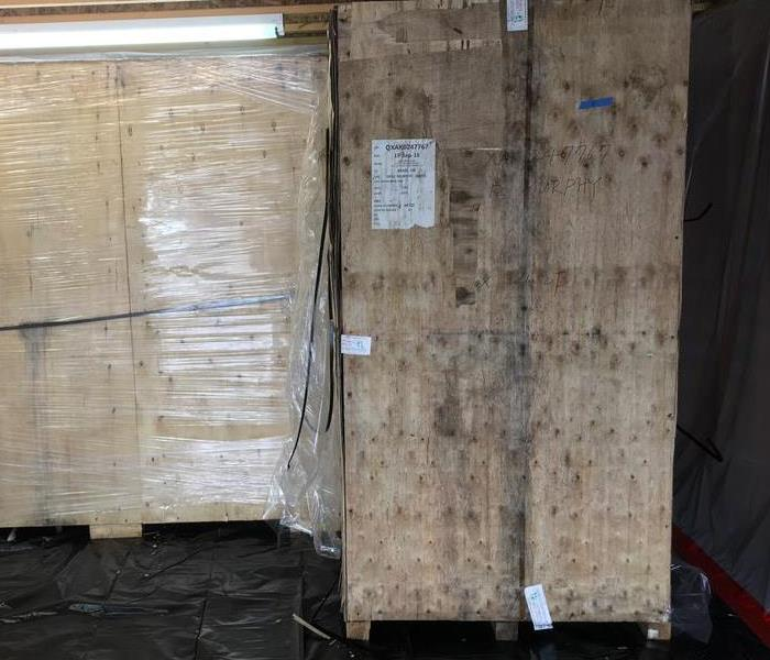 Crates Damaged By Mold Before