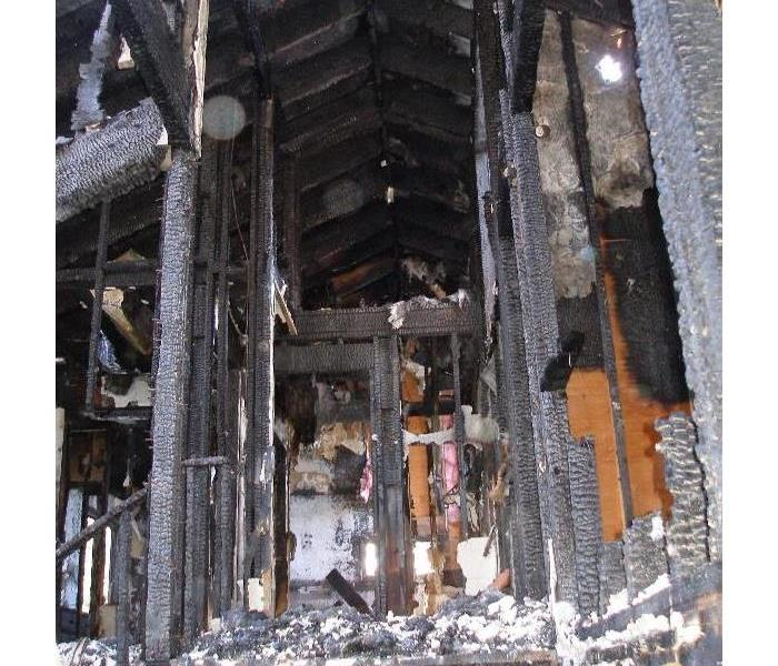 Fire Damage at a Vacation Home in Sunriver, OR Before