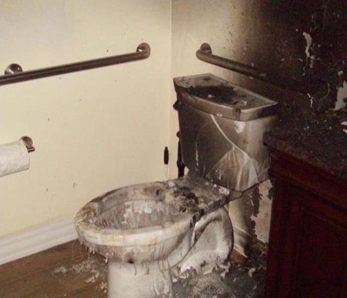 Bathroom Fire Cleaning