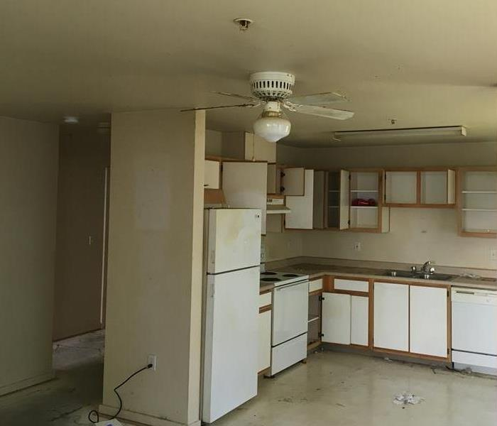 Water Damage to Apartment in Prineville, Oregon