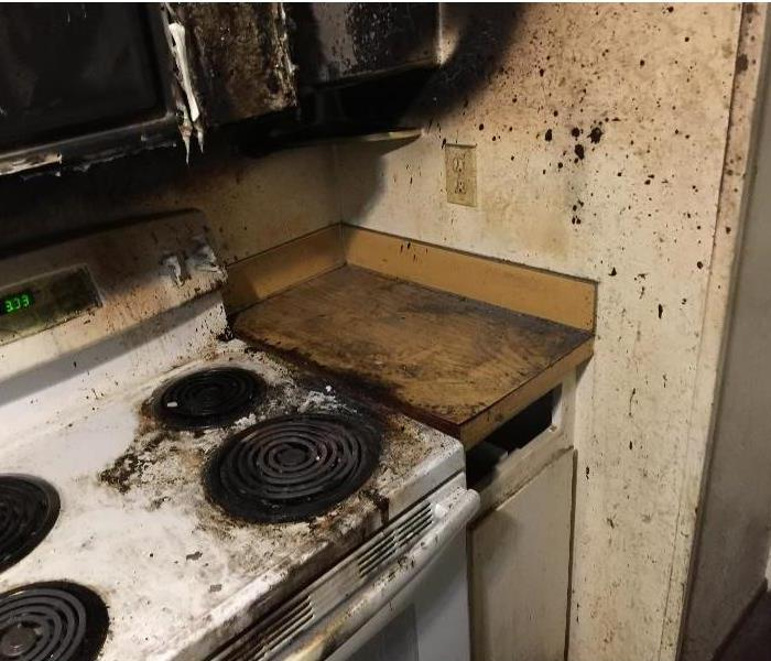 Grease Fire Causes Damage Sunriver, OR