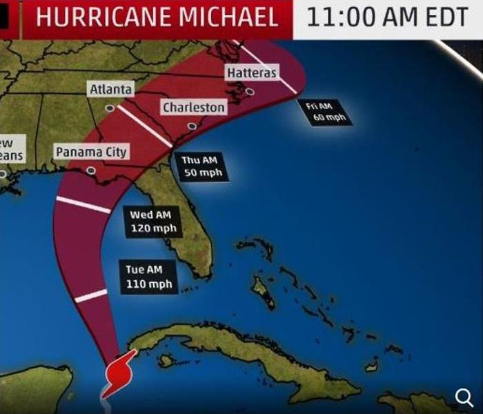 Storm Damage Hurricane Michael Headed For Florida Panhandle