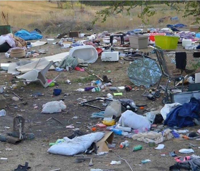 Biohazard SERVPRO of Bend Takes Lead in Cleaning Homeless Camp in Deschutes County